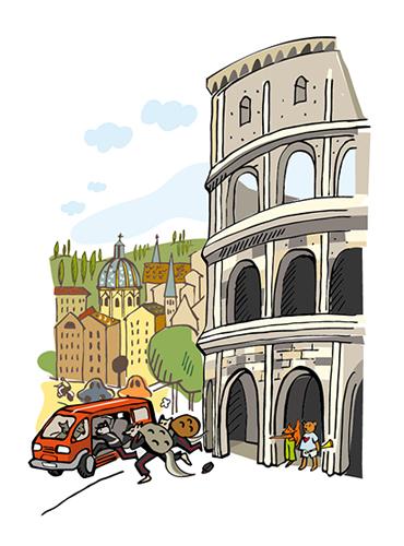 Flykten från Colosseum