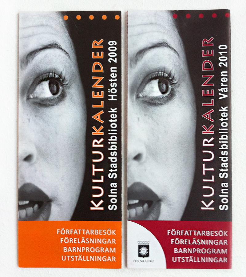 Kulturkalender för Solna Stad, 2009-2011