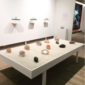 """Installation """"LIVSFORMER"""" utställning på Edsvik Konsthall 2017"""