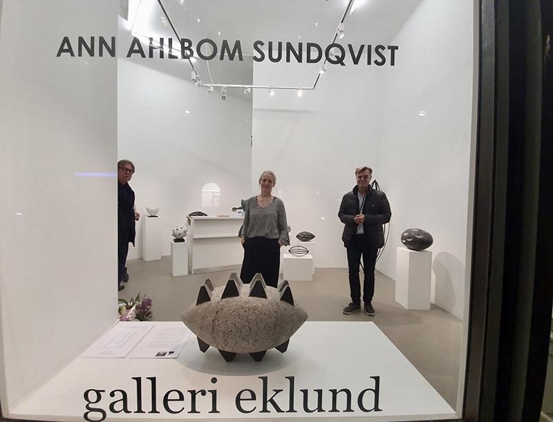 galleri eklund utställningsfönster