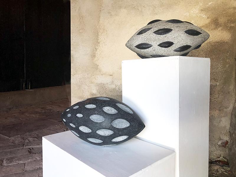 Skulpturer i granit