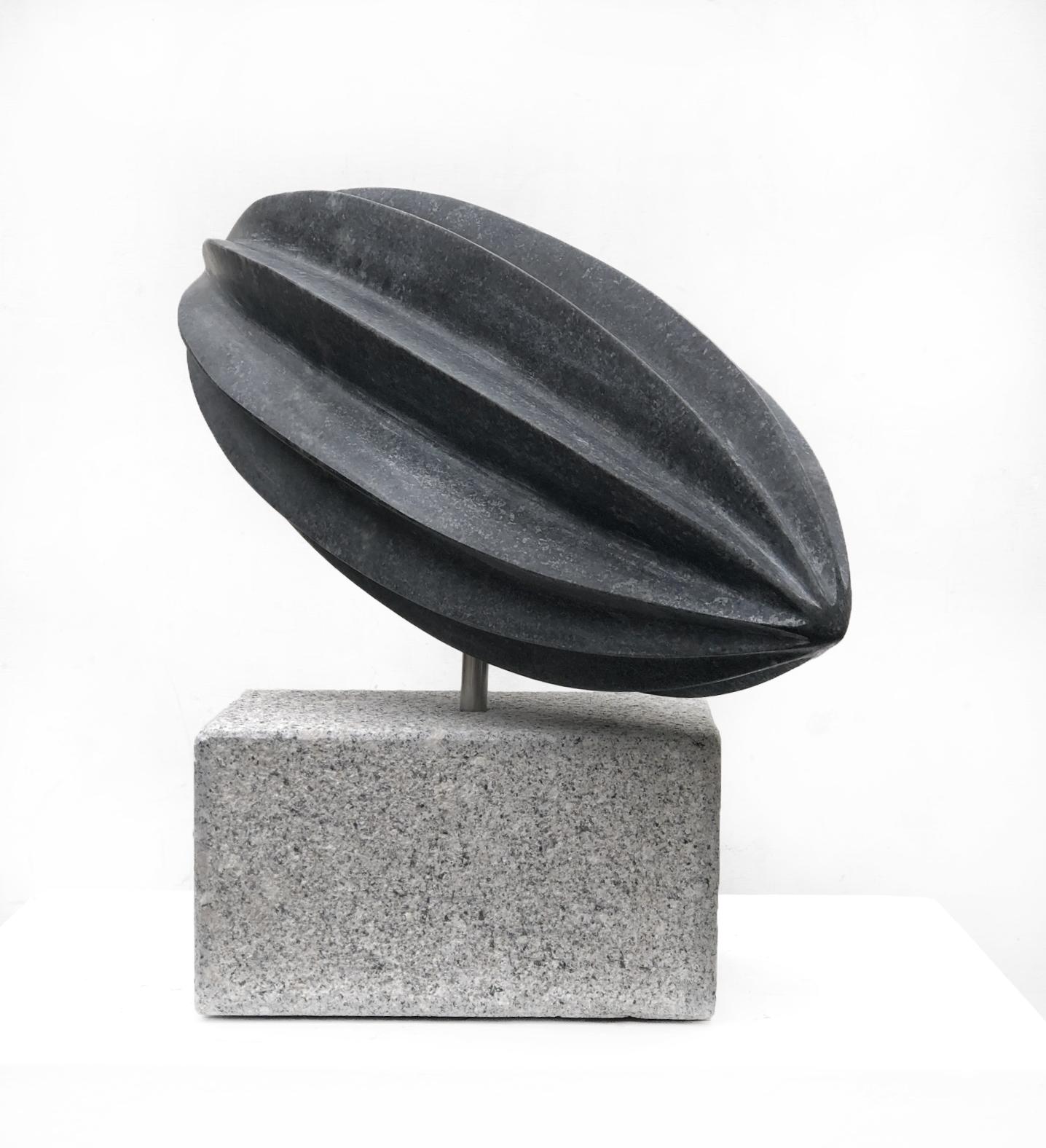 Svart manet, skulptur